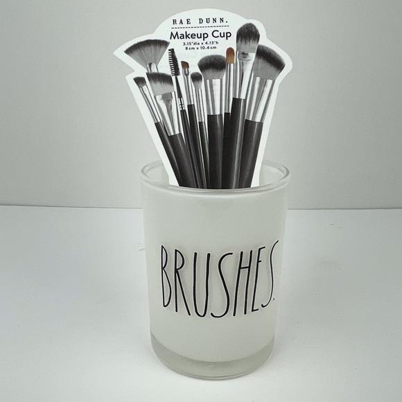SOLD NEW! Rae Dunn BRUSHES brush holders